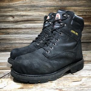 Brahma Men Iron Tough II Steel Toe Boot 8